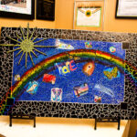 Rogue Winterfest 2016 Gala and Grand Auction Kairos Mosaic by Jill McAlvage Smith
