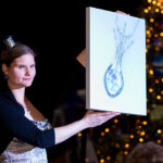 Rogue Winterfest 2016 Gala and Grand Auction King Jewelers Necklace Bidding