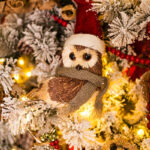 Rogue Winterfest 2016 Gala and Grand Auction Owl and Raccoon Woodland Animals