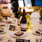 Rogue Winterfest 2016 Gala and Grand Auction Table with Plaisance Ranch Wine Bottle