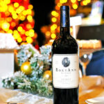 Rogue Winterfest 2016 Gala and Grand Auction Table with RoxyAnn Wine Bottle