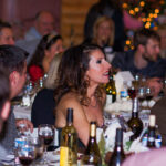 Rogue Winterfest 2016 Gala and Grand Auction Wine Table with Guest