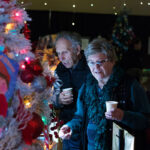 Rogue Winterfest 2016 Golden Social People Looking at Tree