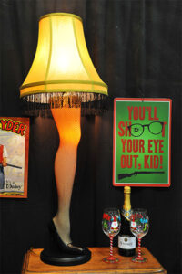 Rogue Winterfest 2016 Trees A Christmas Story Leg Lamp and You'll Shoot Your Eye Out Kid Poster