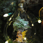 Rogue Winterfest 2016 Trees Secret World of Fairies Fairy in Glass Ornament