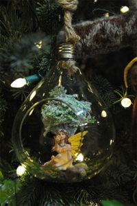 Rogue Winterfest 2016 Trees Secret World of Fairies Fairy in Glass Ornament