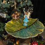 Rogue Winterfest 2016 Trees Secret World of Fairies Fairy on Leaf