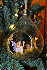 Rogue Winterfest 2016 Trees Secret World of Fairies Pink Fairy Ornament