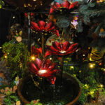 Rogue Winterfest 2016 Trees Secret World of Fairies Water Fountain