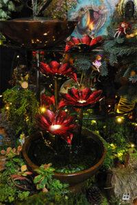 Rogue Winterfest 2016 Trees Secret World of Fairies Water Fountain
