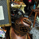 Rogue Winterfest 2016 Trees Steampunk Night Steamed Up Diving Helmet