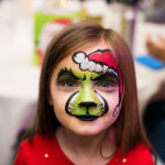Rogue Winterfest 2016 Weekend Holiday Events Cloe with Face Paint