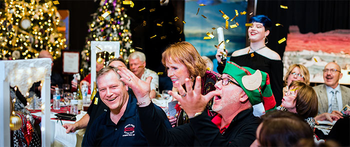 Rogue Winterfest Gala and Grand Auction Confetti Shower